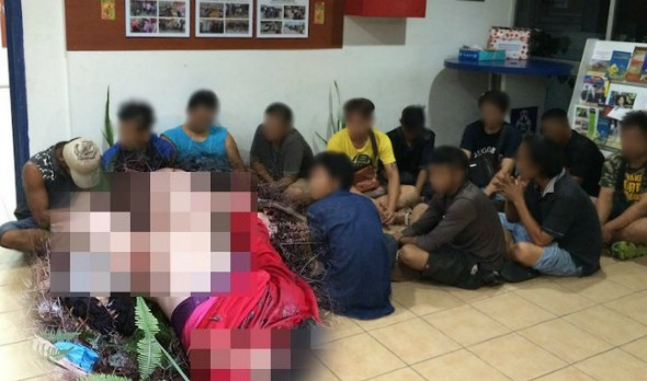 Seorang remaja perempuan berusia 14 tahun maut selepas dipercayai telah di rogol oleh 12 orang lelaki secara bergilir-gilir selama tiga hari berturut-turut.