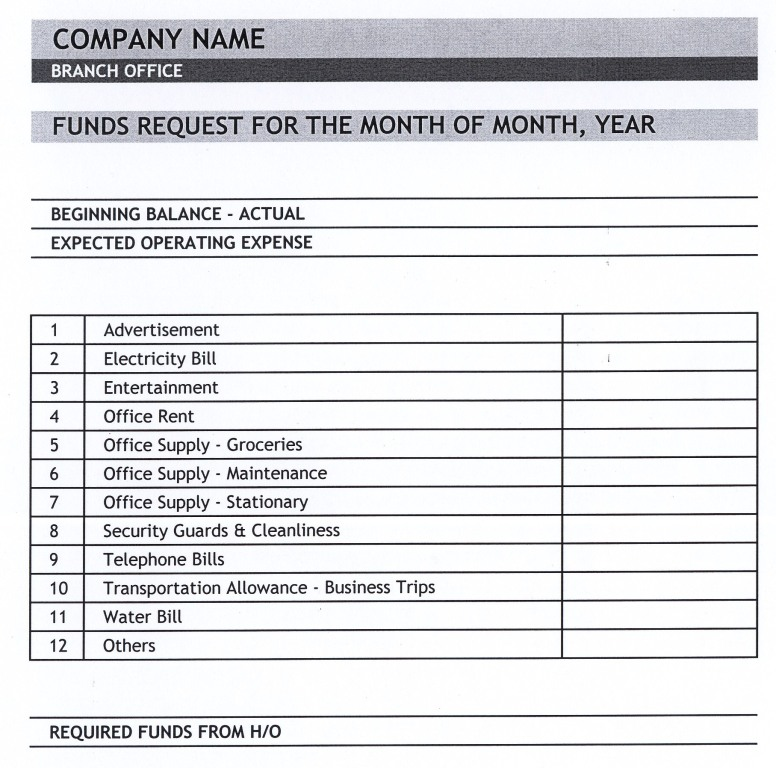 Expense Report Form Expense Report Template Free Word Excel Pdf