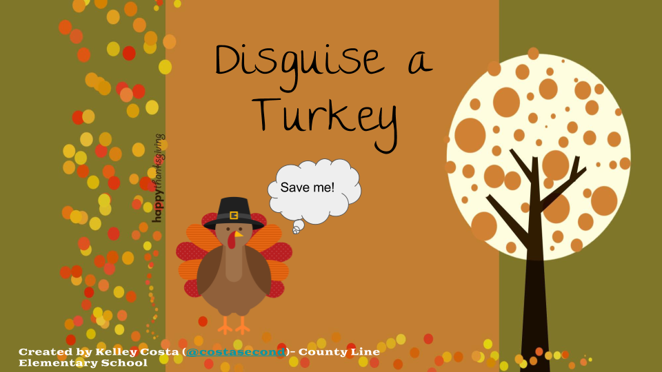 Control Alt Achieve Turkey Templates for Thanksgiving Creativity