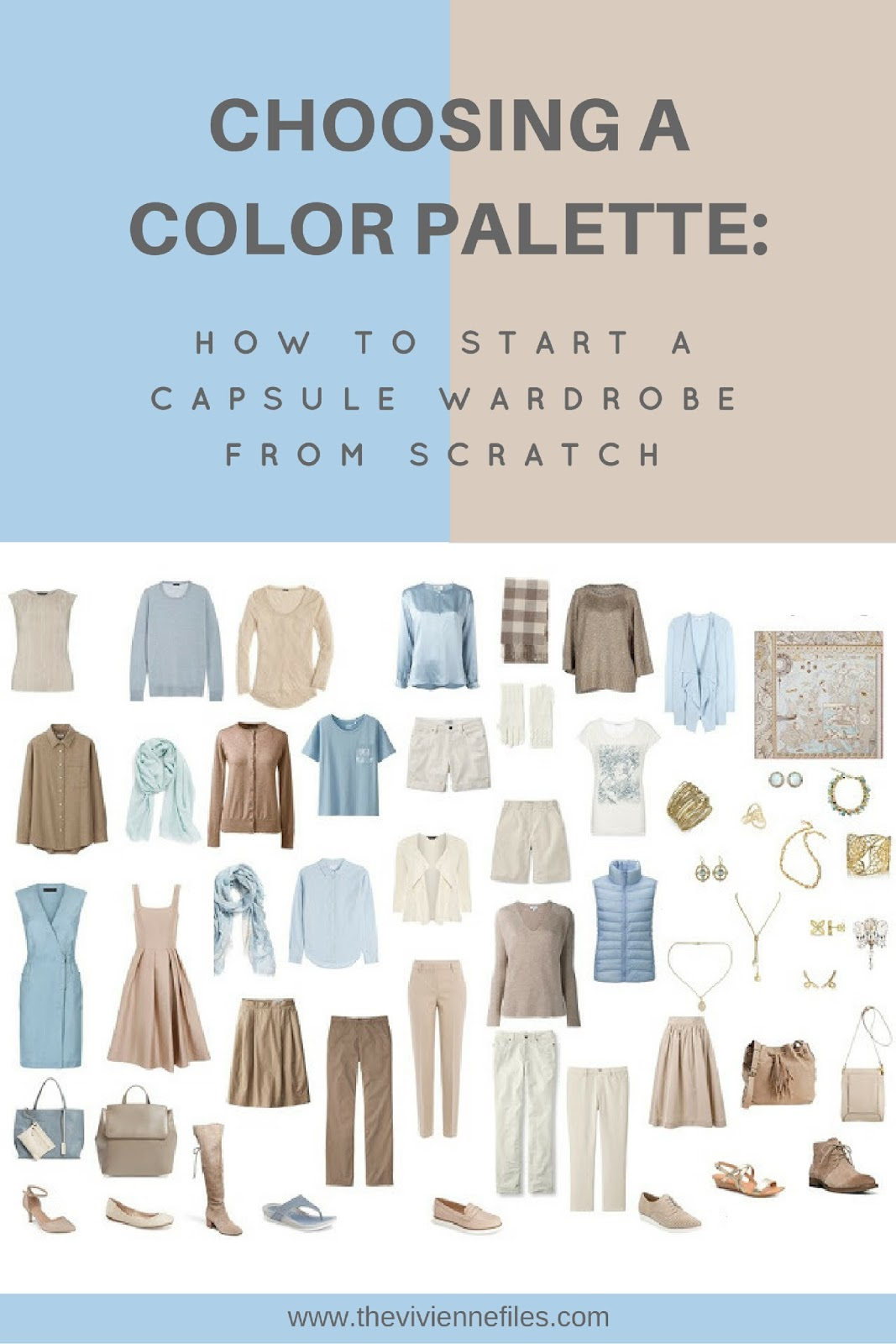 Capsule Wardrobe: How To Build A Capsule Wardrobe From Scratch: Choosing
