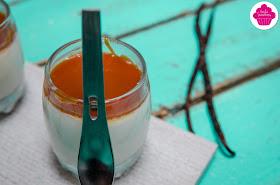 Panna cotta vanille et caramel au beurre salé