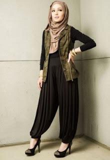 Model Rompi Panjang Muslim Untuk Busana Muslim Wanita Modern