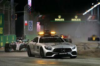 Safety car Singapore GP Formula One
