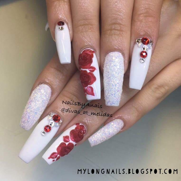 Long Nails: Natalie\'s beautiful long nails - 1