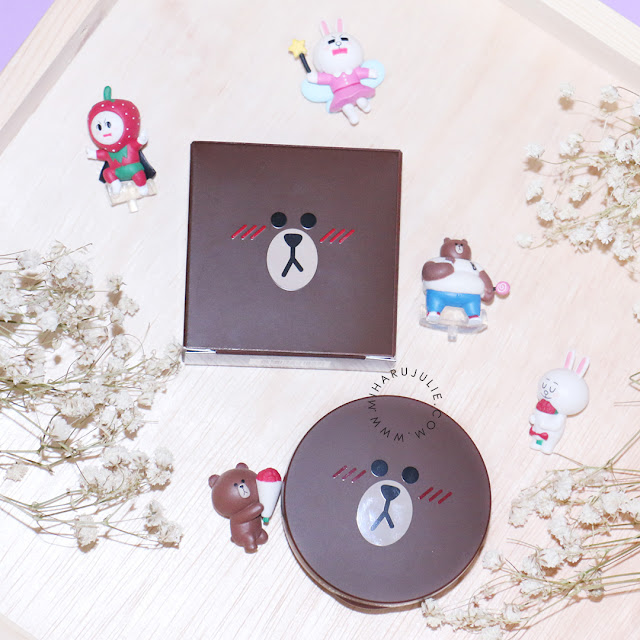 Review Missha X Line Friends Tension Blusher