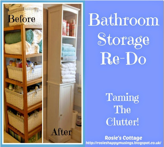 Bathroom Storage - Clear The Clutter