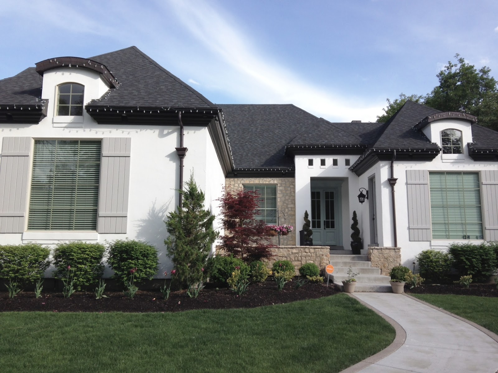 What Are The New Black Windows In Homes Made Of