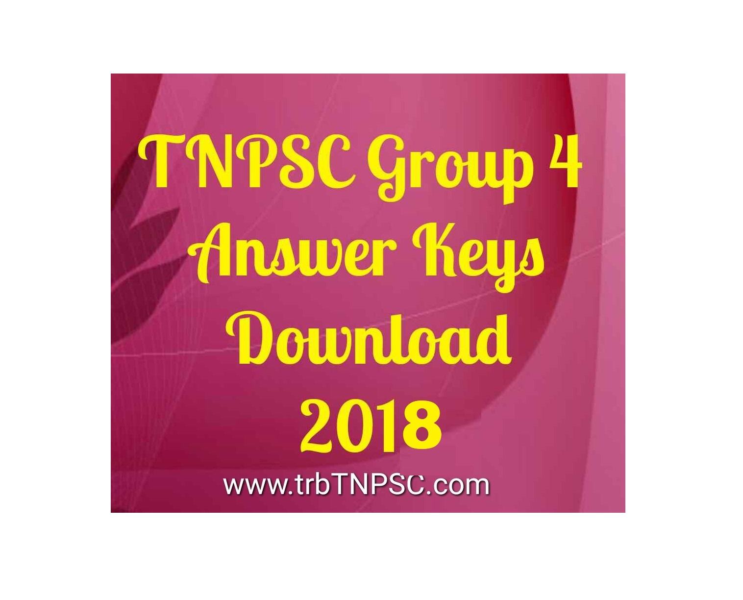 2018 trb tnpsc tnpsc group 4 exam 2018 answer key download malvernweather Image collections