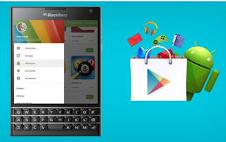 GooglePlay On Blackberry q10