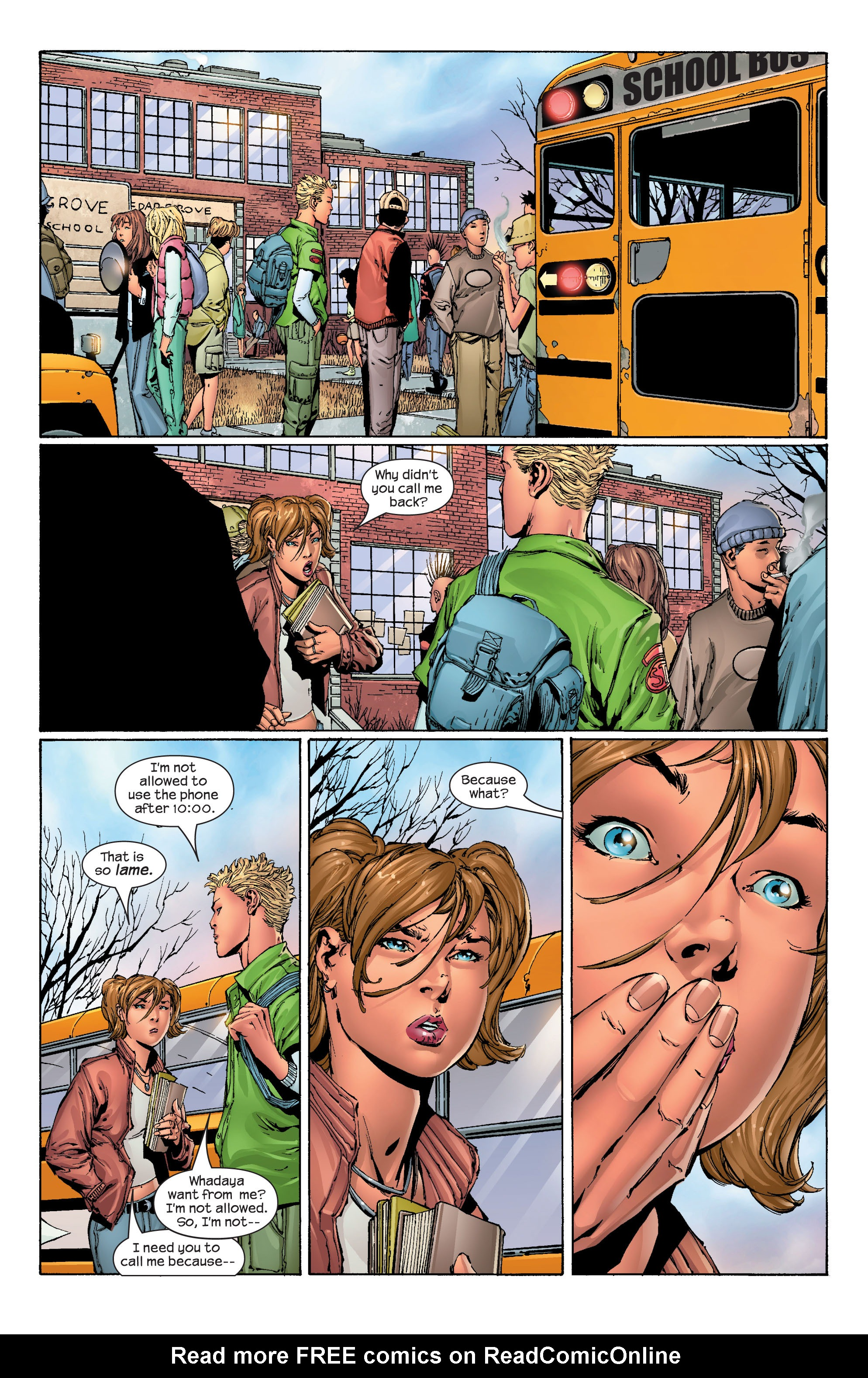 Read online Ultimate X-Men comic -  Issue #41 - 8