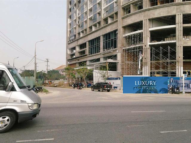 Hình ảnh thực tế dự án Luxury Apartment