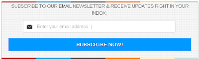 Email Subscription Widget 5