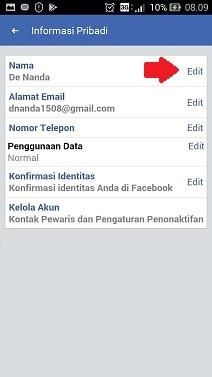 Bagaimana Cara Mengganti Nama Di Facebook : bagaimana, mengganti, facebook, Mengubah, Facebook, Terbaru, Nanda