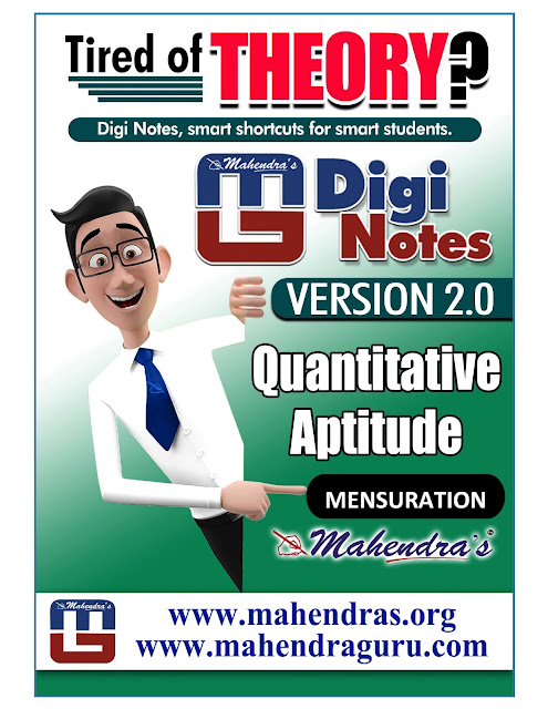 Digi Notes - 2.0 | Download Free Mensuration Questions PDF for IBPS PO  | 06.10.2017
