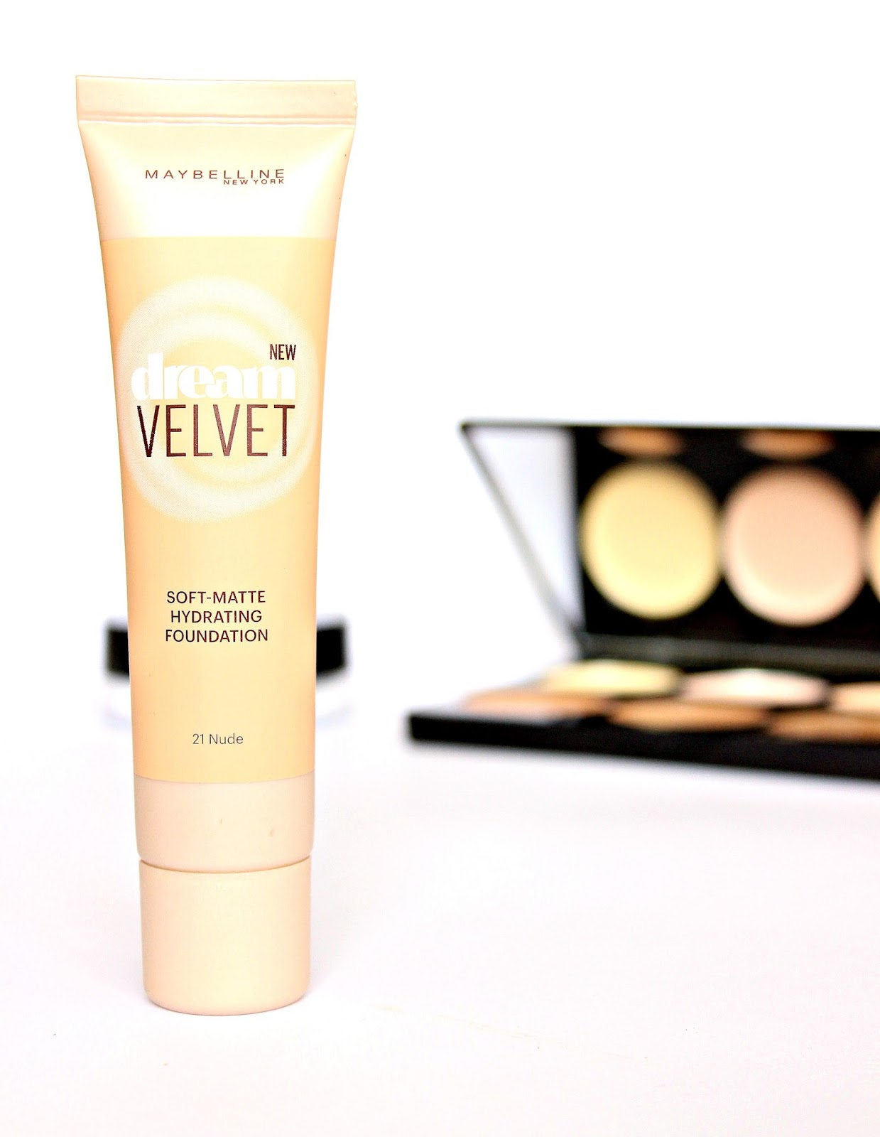 A picture of NEW Maybelline Dream Velvet Soft Matte Hydrating Foundation