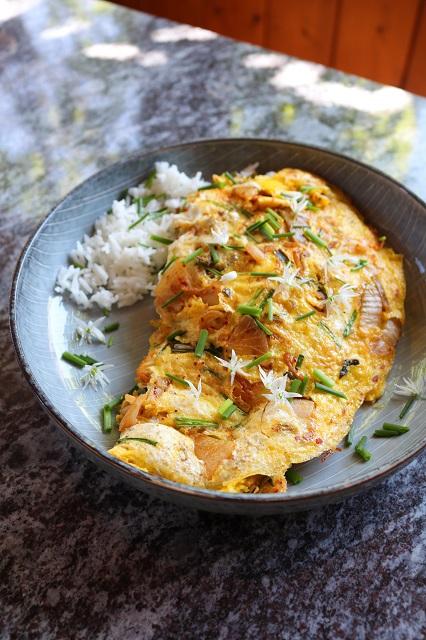 Kimchi Omlette