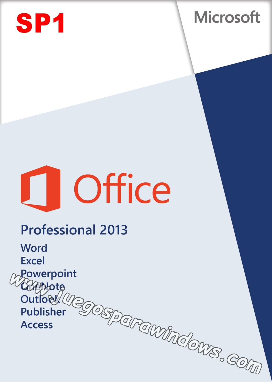 Todo En Uno Microsoft Office 2013 SP1 ESPAÑOL