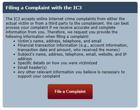 Any suspicious activity on your blog or website should be reported to law enforcement authorities at the local, state, federal, or international levels.