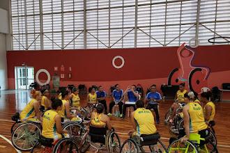 Seleção feminina de basquete em Cadeira de Rodas encerra periodo de treinamento no CT Paralímpico