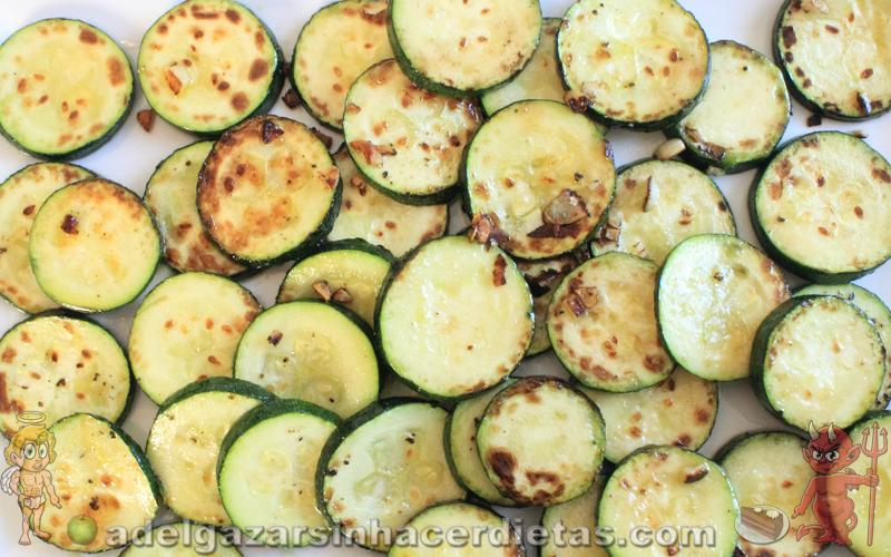 Calabacines a la plancha (Zucchini)