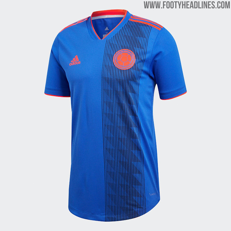 879137f5708 Colombia 2018 World Cup Away Kit Released - Footy Headlines