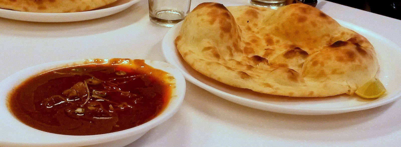 Khameeri Roti and Nihari at Karim's