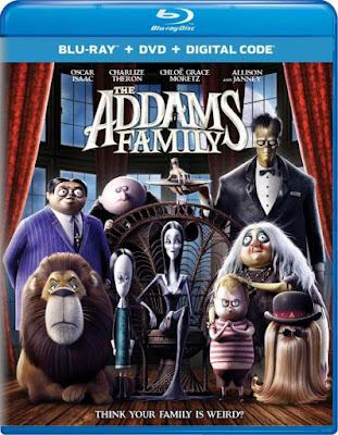 The Addams Family 2019 Eng BRRip 480p 250Mb ESub x264