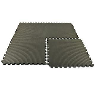Greatmats Home Tatami Sport Tile 20 mm gray black foam