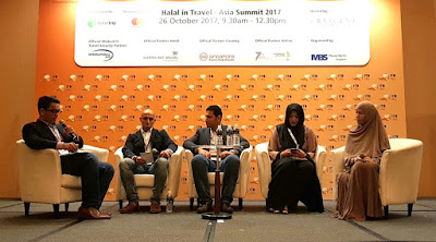 From left: From left: Razy Shash, Co-founder, 2Stallions Digital, a digital media agency, moderator, technology; Nabil El-Shafeay, Global Head of Partnerships, BeMyGuest; Mamoun Hmedan, MD, Wego Middle East, North Africa and India; Atikah Amalina, Educator, social activist and influencer and solo traveller, The Tudung Traveler; and Aliza Kim, TV and social media personality.