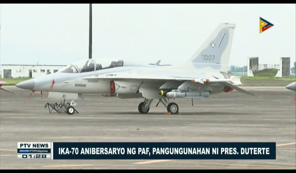 Philippine Air Force 70th Anniversary and the AGM-65