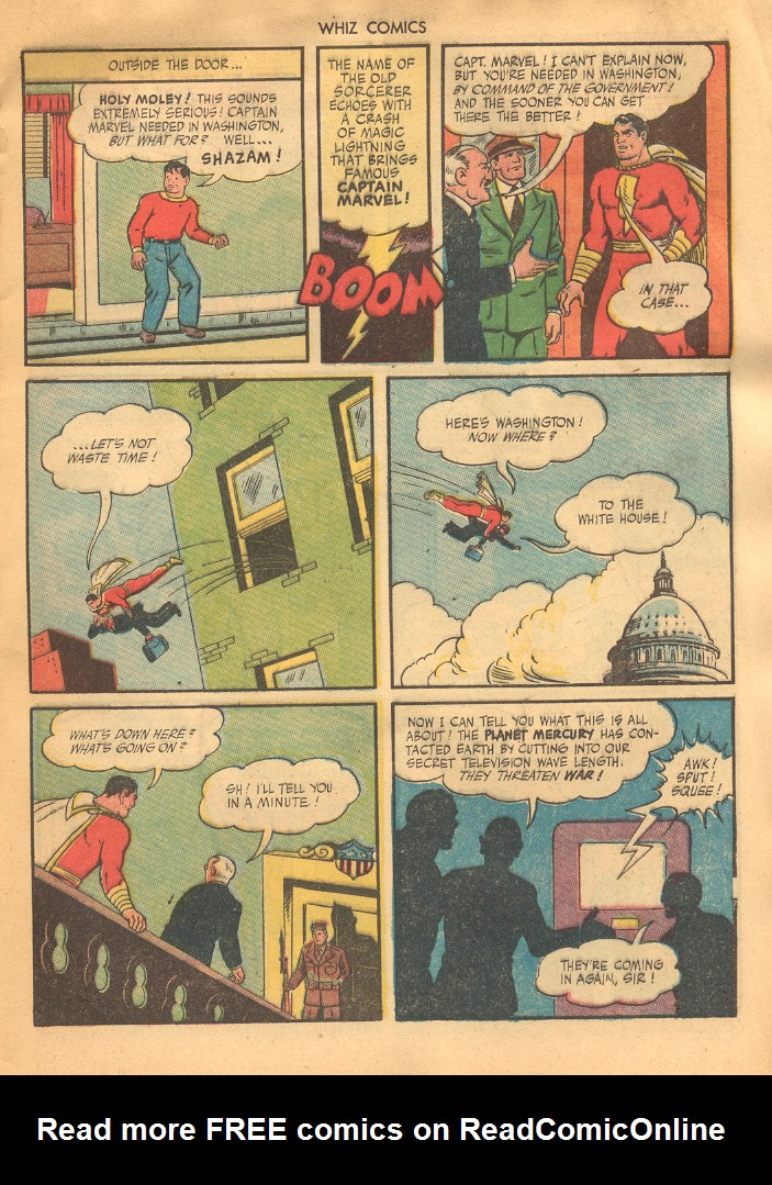 WHIZ Comics issue 69 - Page 5