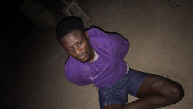 Thief Caught In The Night While Raiding Hostels In UNIOSUN.