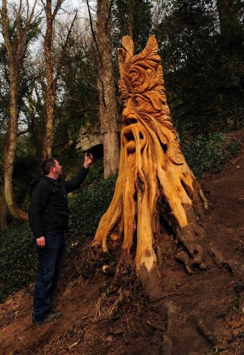Скульптуры из дерева в Северном Йоркшире 4