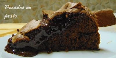 Pão lo de chocolate cremoso