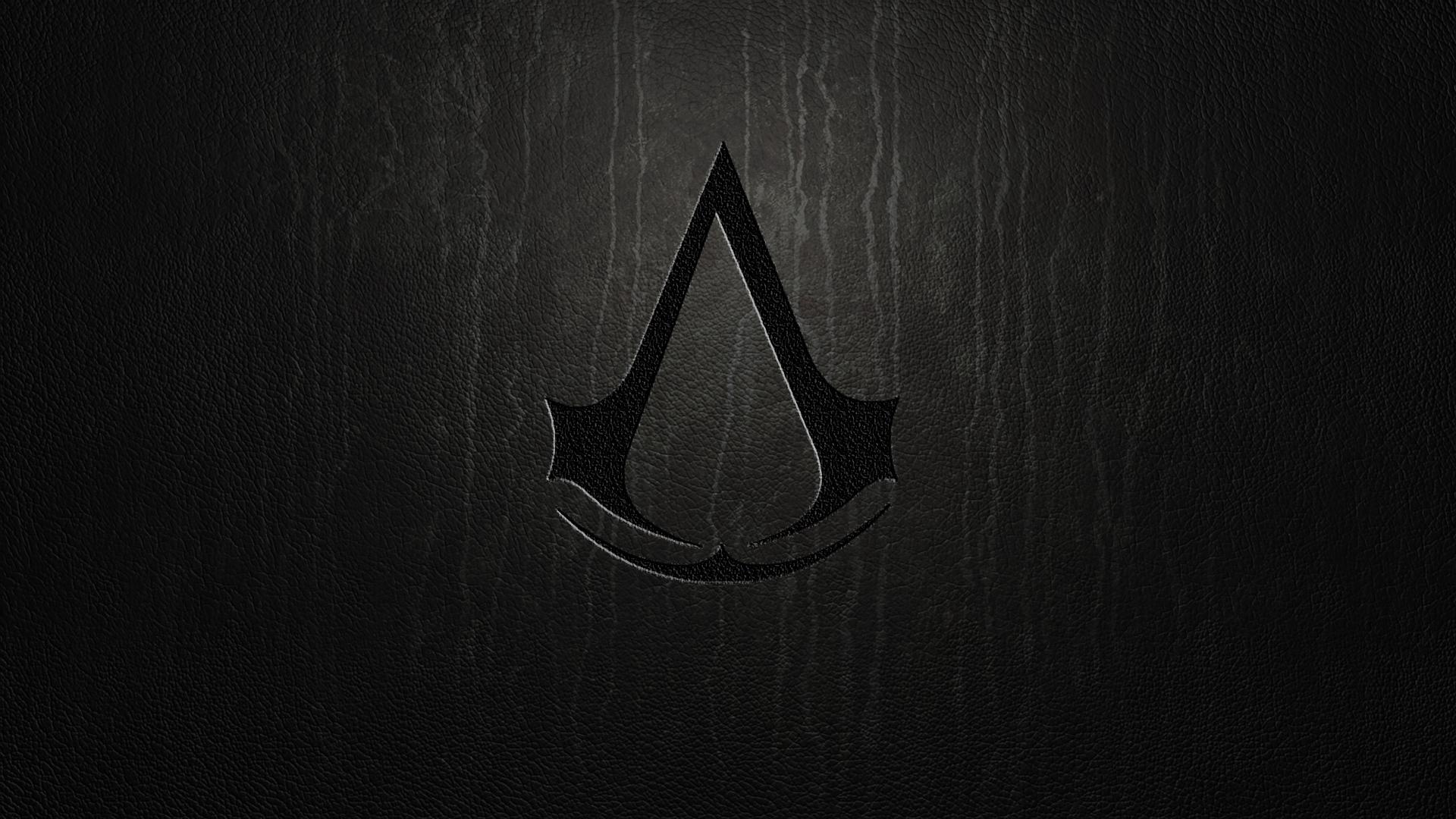 Assassins Creed Dark Logo Wallpaper Hd