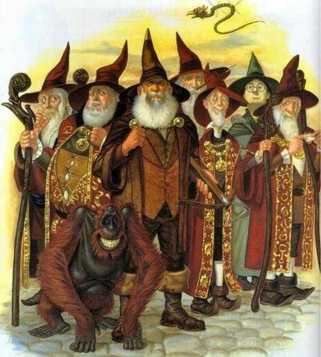 Discworld Wizards