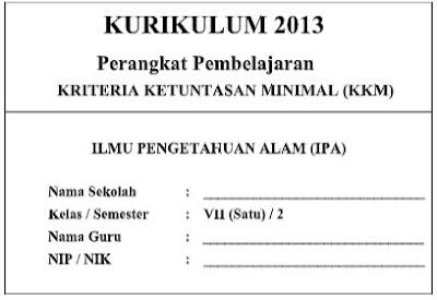 Kriteria Ketuntasan Minimal (KKM) K 13 IPA SMP/MTs Semester 1 dan 2-http://www.librarypendidikan.com/