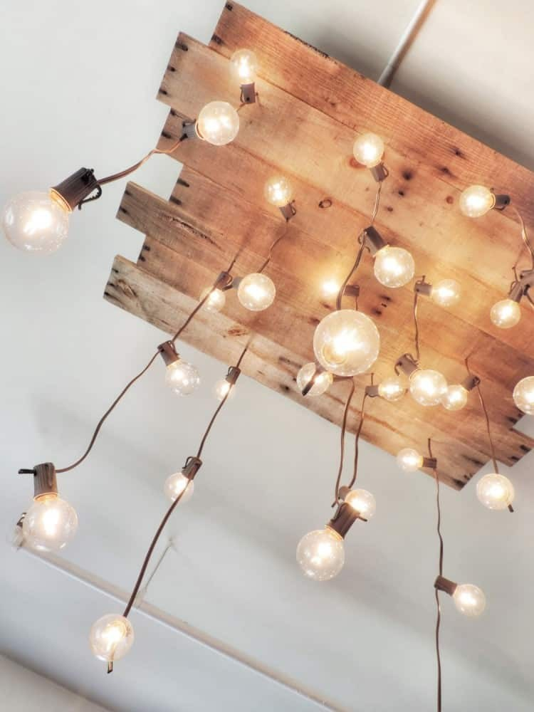 10+ Expensive Ideas Of Wood Pallet Lamps Make Immediately