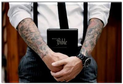 tatoo biblia jesus crente