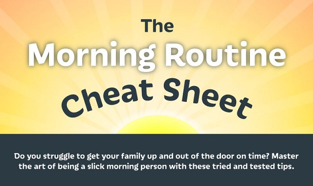 The Morning Routine Cheat Sheet