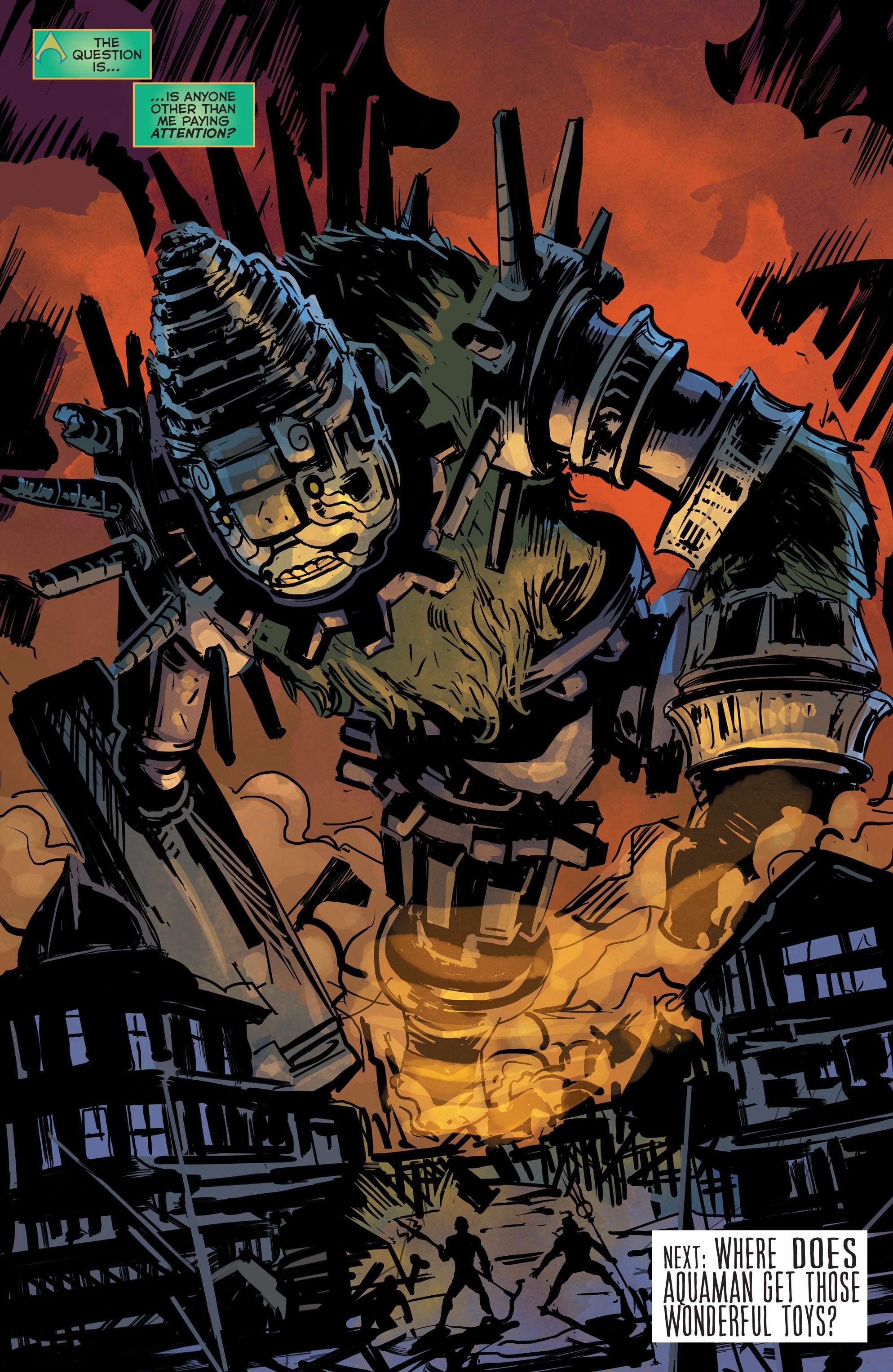 Read online Aquaman (2011) comic -  Issue #42 - 19
