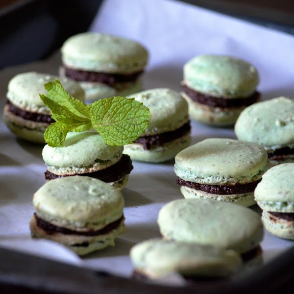 Made with Consternation Part II (Mint Macarons)