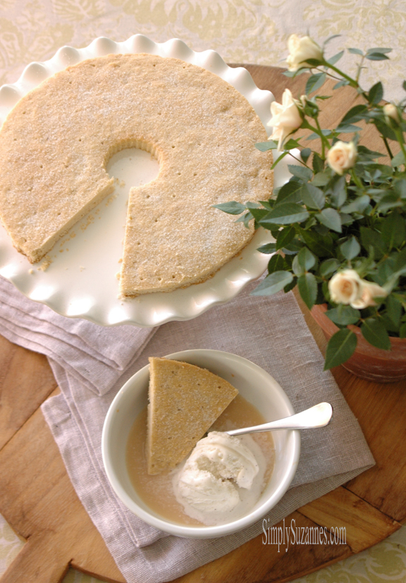 The BEST shortbread recipe. From Simply Suzanne's At Home