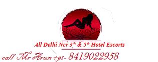 In-call Escorts service in Delhi, Incall service in Hotel Delhi