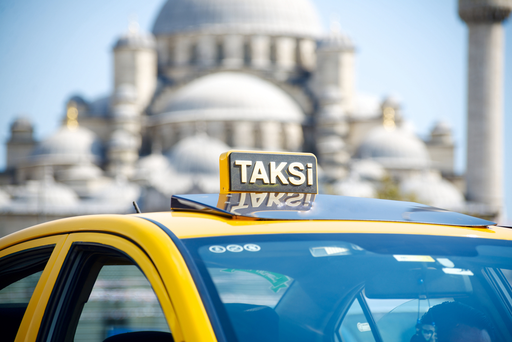 a taksi in istanbul