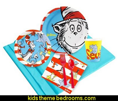 Dr Seuss Party Supplies - Party Pack