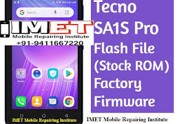 Tecno SA1S Pro Flash File (Stock ROM) – Factory Firmware & Method