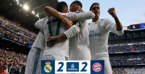 Real Madrid vs Bayern Munich 2-2 Highlights - Semifinal Liga Champions