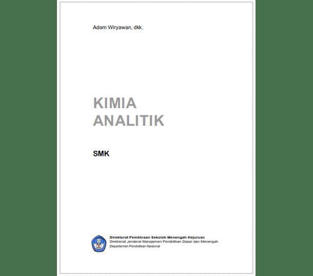 Buku SMK Kimia Analitik