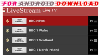 Download Android LiveStream Apk For Android - Watch Free Premium Cable Channel on Android
